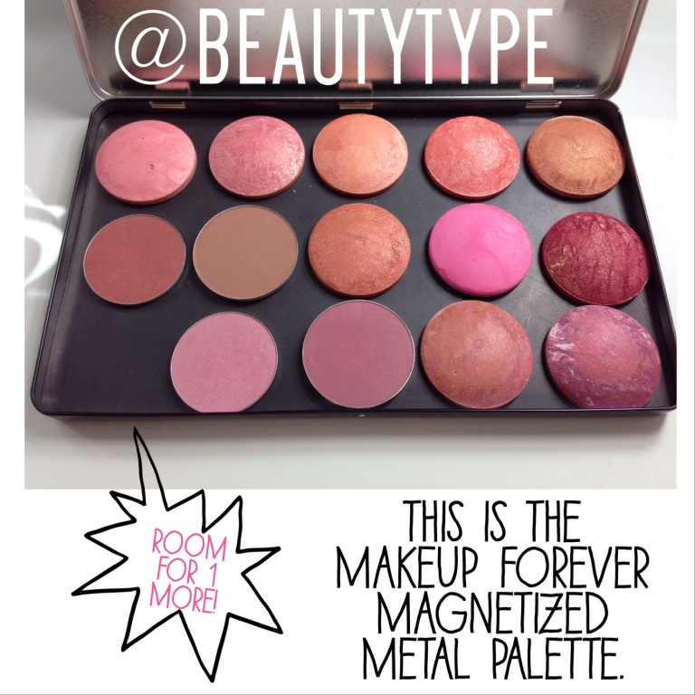 Make your own blush palette!