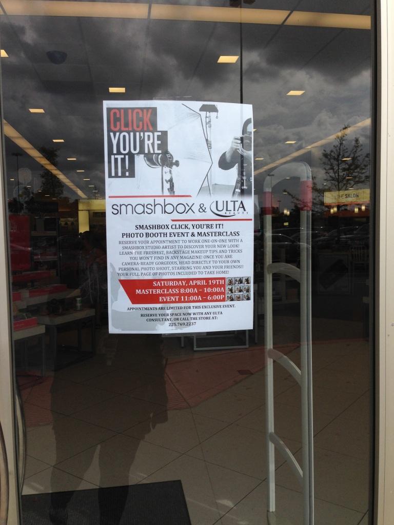 Ulta Baton Rouge & Smashbox Photo Booth Event