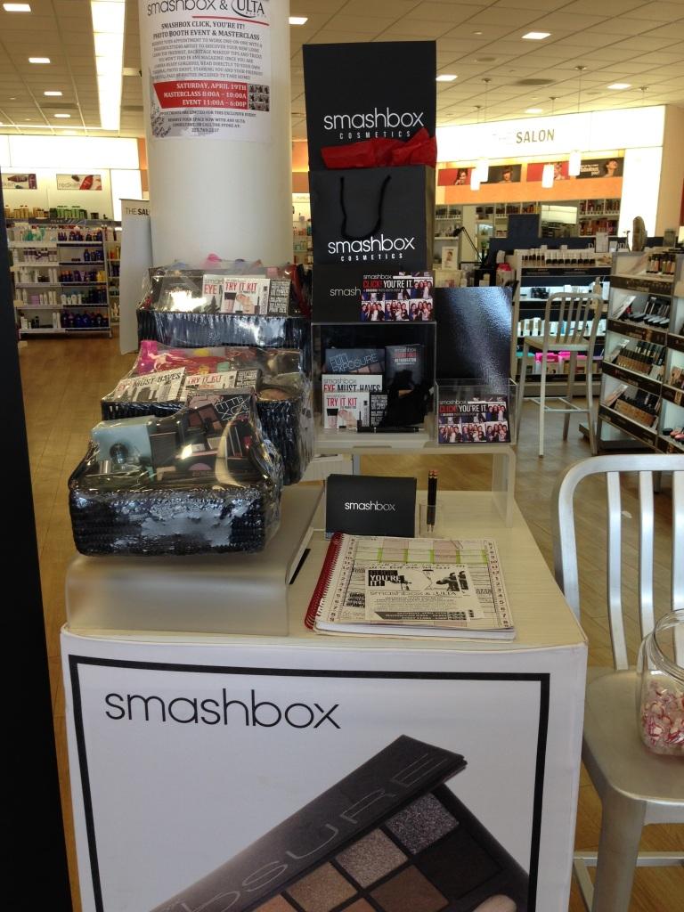 Smashbox Appointment Station